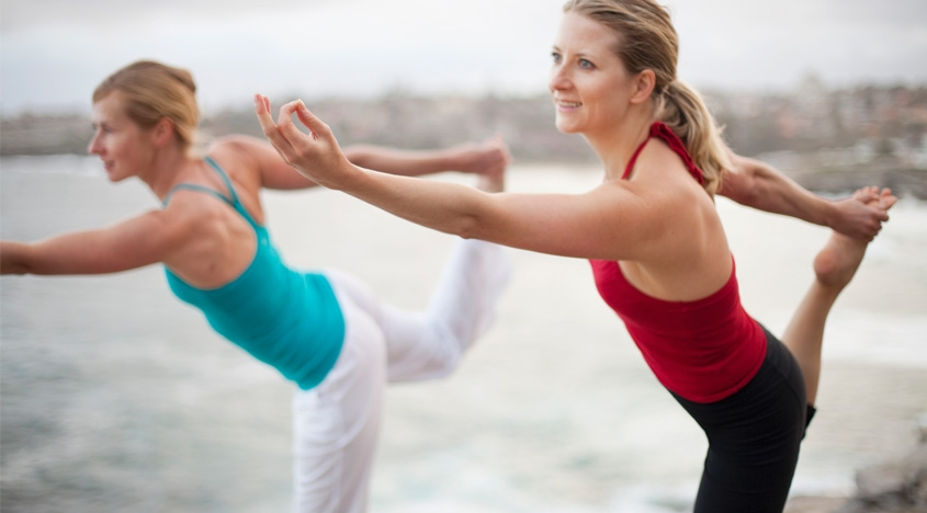 staying fit in your forties | the experts' guide to feeling | stay fit with yoga