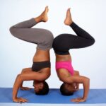 Basic Cool Two Person Yoga Poses Picture