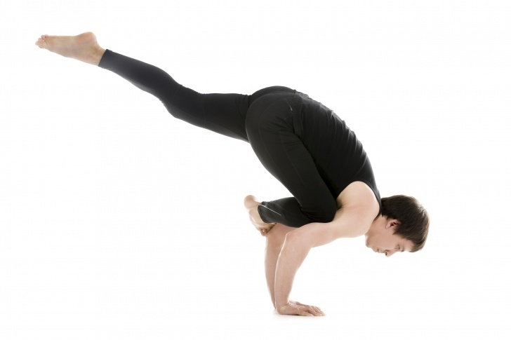 basic flying pigeon pose yoga pictures
