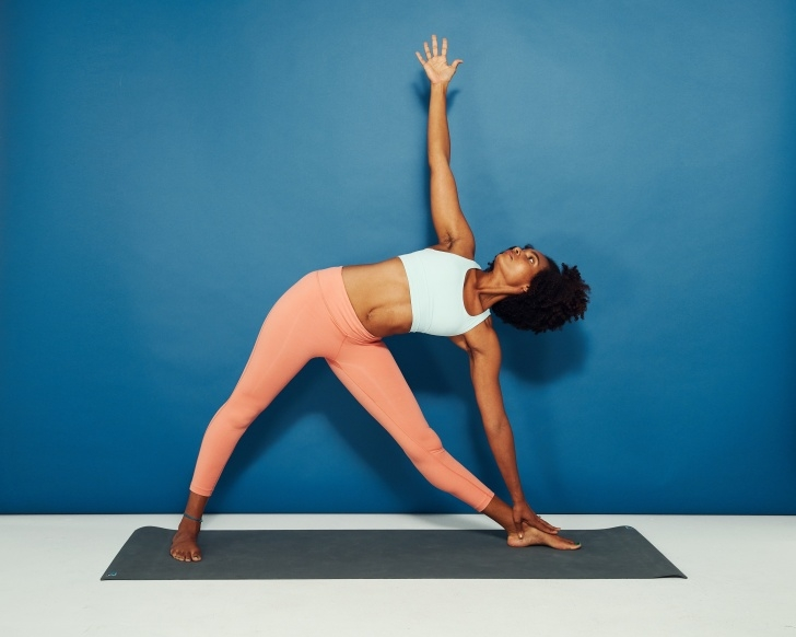 basic yoga moves pictures image