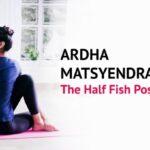 Basic Yoga Poses Ardha Matsyasana Steps Photo