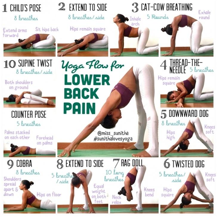 basic yoga poses back pain picture
