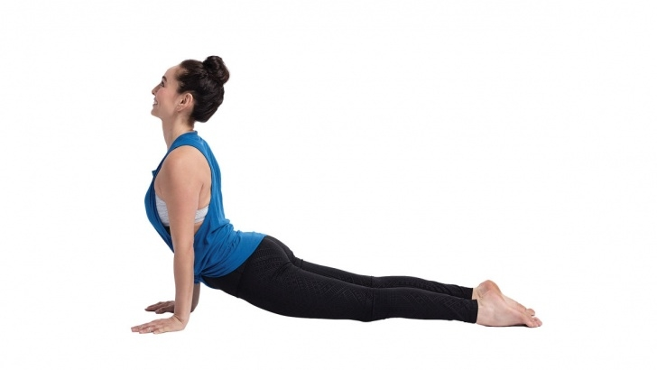 basic yoga poses benefits of upward facing dog image