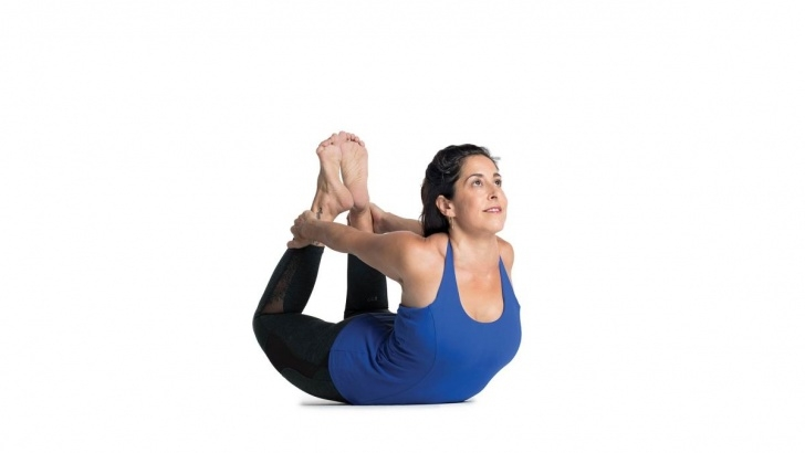 basic yoga poses dhanurasana steps and benefits photo