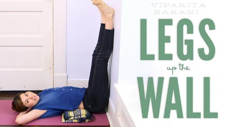 basic yoga poses legs up the wall benefits photos