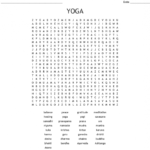 Basic Yoga Positions Crossword Photos
