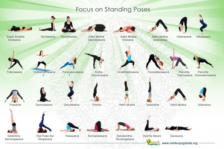 best basic yoga poses names photo