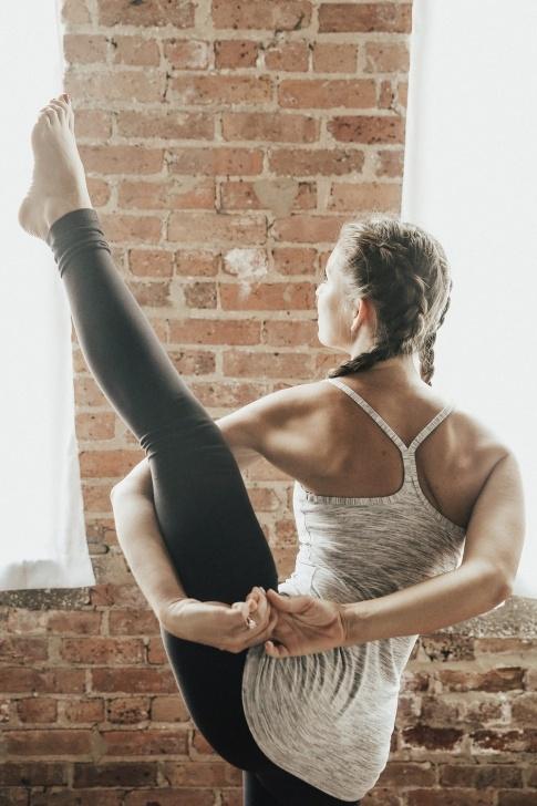 best bird of paradise yoga pose images