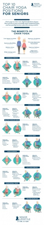 best chair yoga poses for seniors picture