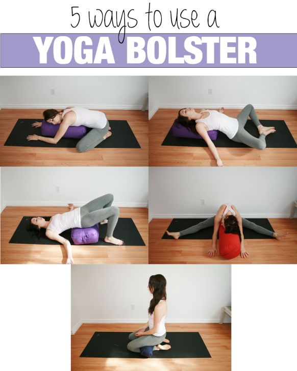 best restorative yoga poses bolster images