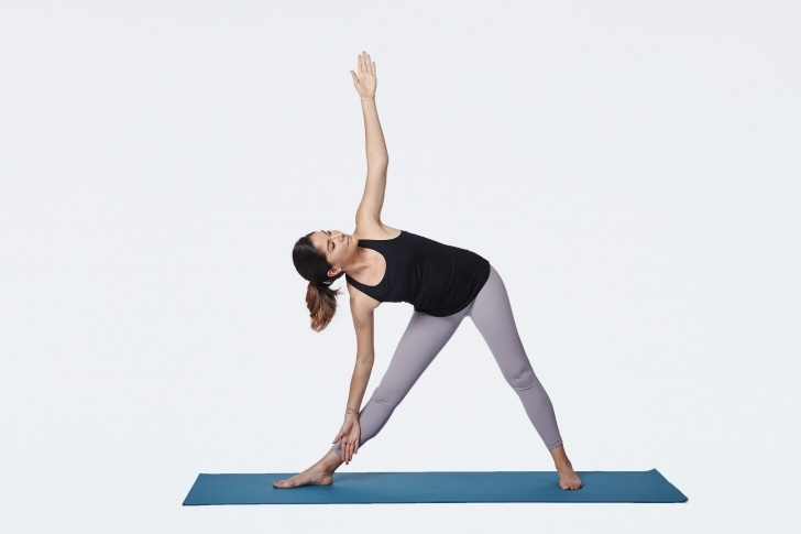 best triangle pose modifications photos