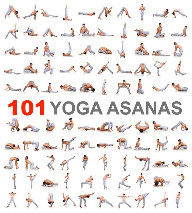 best yoga asanas chart with name pictures