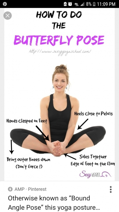 best yoga butterfly pose lying down picture