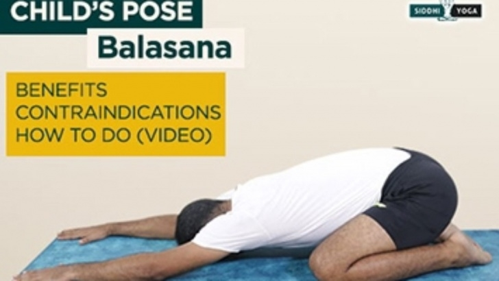 best yoga poses balasana benefits in hindi photo