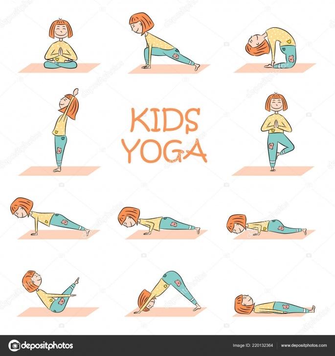 best yoga poses cartoon photos