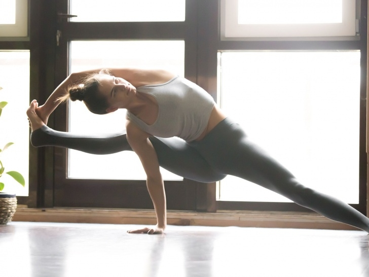 best yoga poses difficult photo