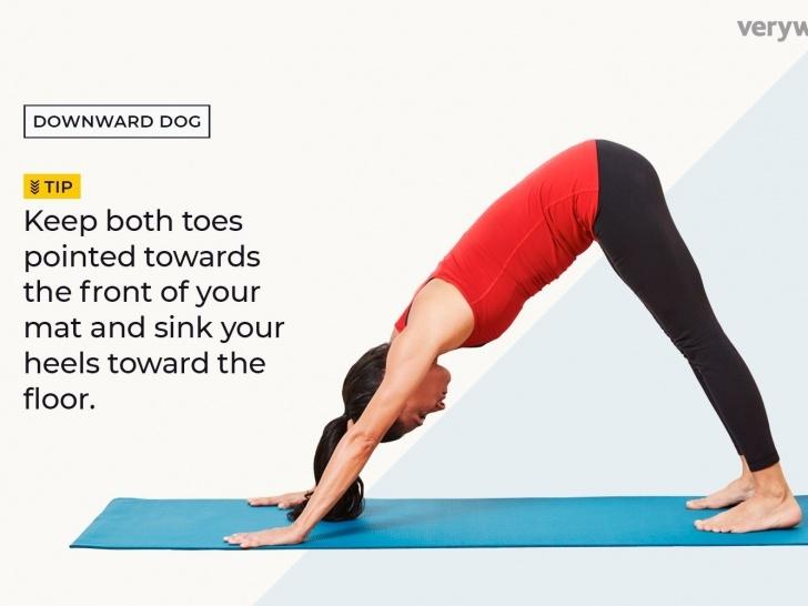 best yoga poses downward dog photos