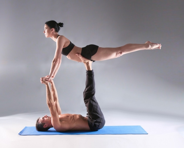 best yoga poses for 2 photo