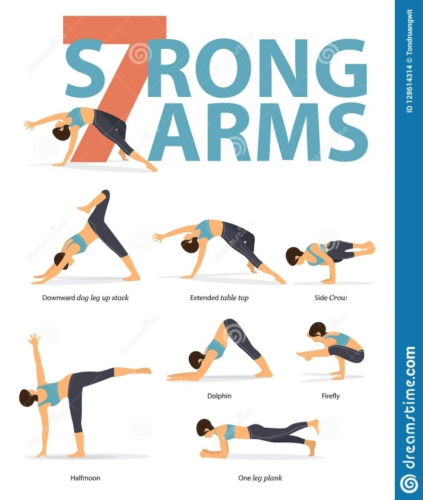 best yoga poses for arms image