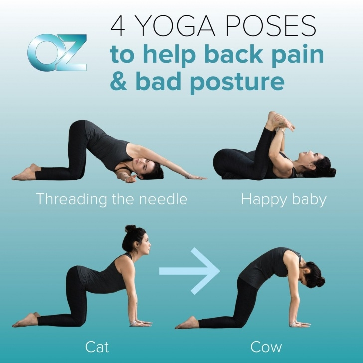 best yoga poses for back pain and neck photo