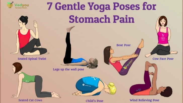 best yoga poses for gas photo