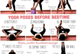 best yoga poses in bed picture