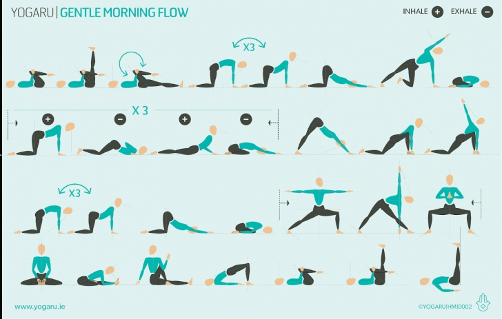 best yoga poses morning picture