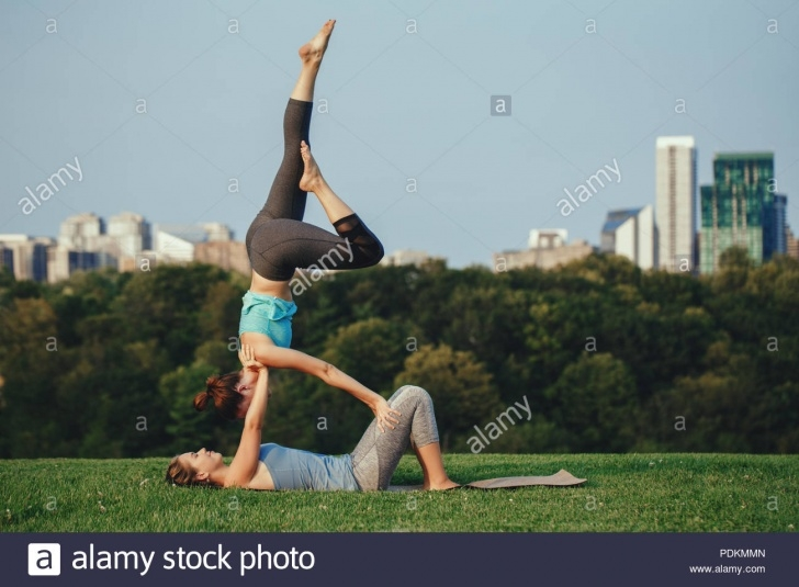 best yoga poses shoulder stand acro photos