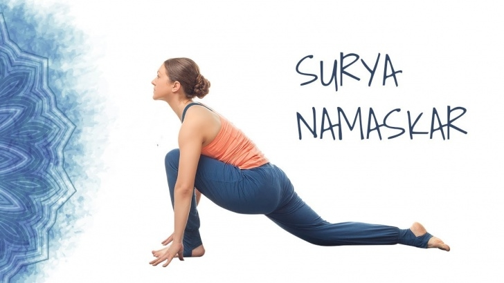 best yoga poses sun salutation surya namaskar photo