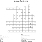 Best Yoga Positions Crossword Image