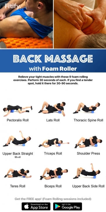 best yoga roller exercises pictures