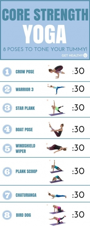 best yoga sequence core images