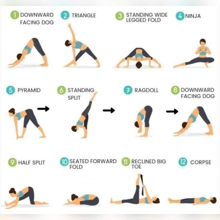 best yoga stretches hamstrings image