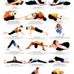 Easy Advanced Yoga Poses Chart Image