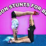 Easy Gymnastics Yoga Poses For 2 Photos