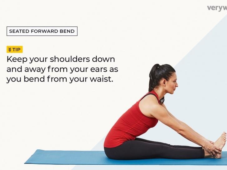 easy paschimottanasana yoga pose pictures