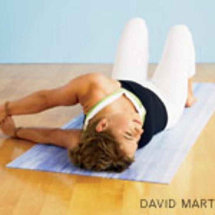 easy yin yoga poses shoulders image