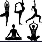 Easy Yoga Pose Vector Picture