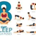 Easy Yoga Poses Before Bed Photo