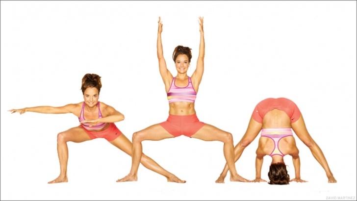 easy yoga poses for three image