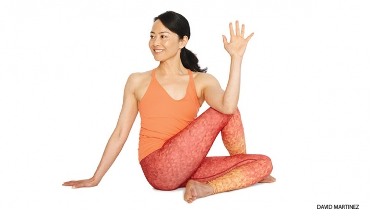 essential yoga poses ardha matsyasana steps picture