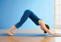essential yoga poses girl photo