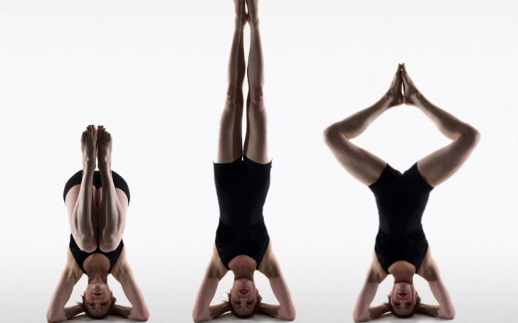 essential yoga poses upside down pictures