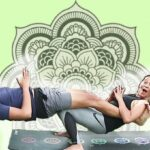Fun And Easy Cool Partner Yoga Poses Photo
