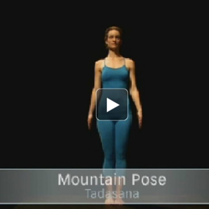 fun and easy mountain pose yoga photos