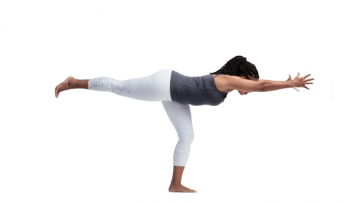 fun and easy yoga poses for three photo