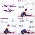 Fun And Easy Yoga Poses Janu Sirsasana Variations Images