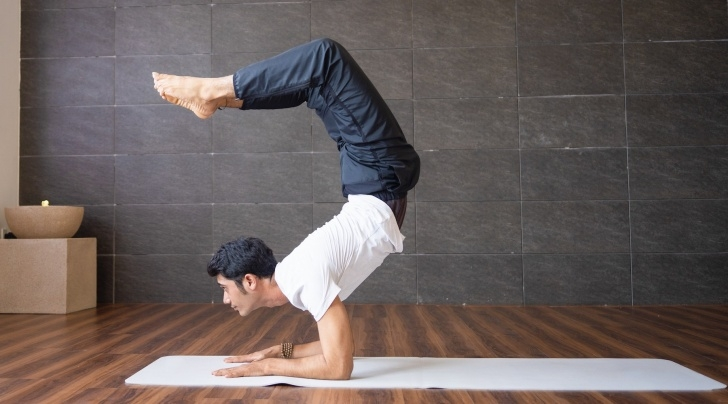 fun and easy yoga poses sirsasana for hair picture