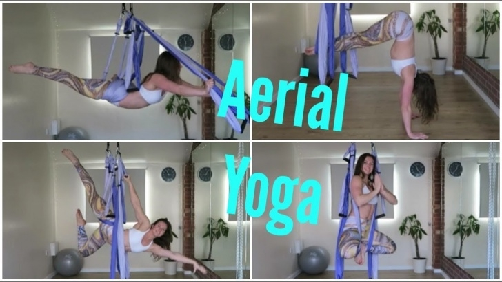 guide of beginner yoga swing poses image