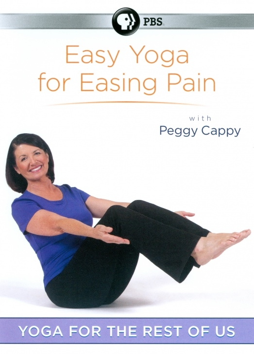guide of easy yoga by peggy cappy picture